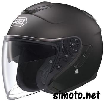 Shoei J-CRUISE Black Matt