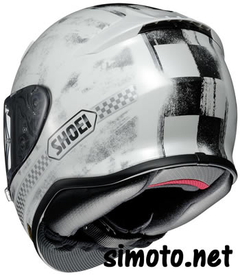 Shoei NXR TERMINUS White