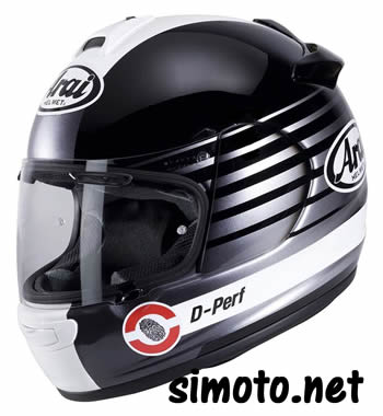 Arai CHASER-V PAGE SILVER