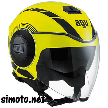 Agv FLUID EQUALIZER GIALLO