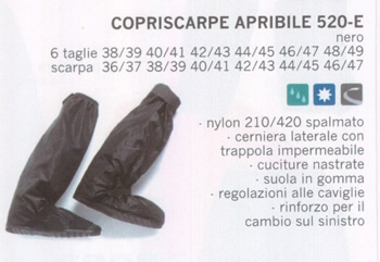 Copriscarpe Apribile